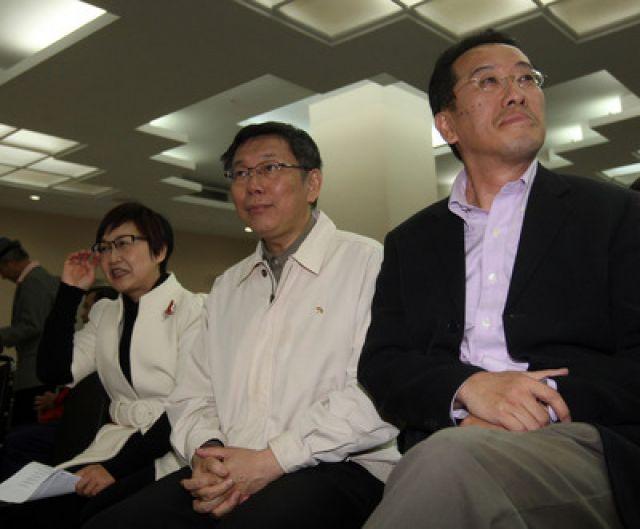 台北市长民调:柯文哲38.9%领先连胜文30.72