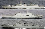 日本海自近距监视我军远海舰队