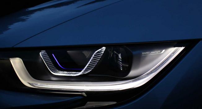 宝马激光大灯技术量产 i8率先采用高清图片