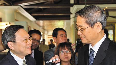 台陆委会负责人王郁琦今起访大陆 张志军将会面