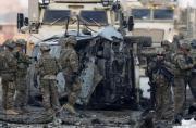 北约驻阿军营遭汽车炸弹攻击