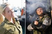 以色列可爱女兵杀敌毫不含糊