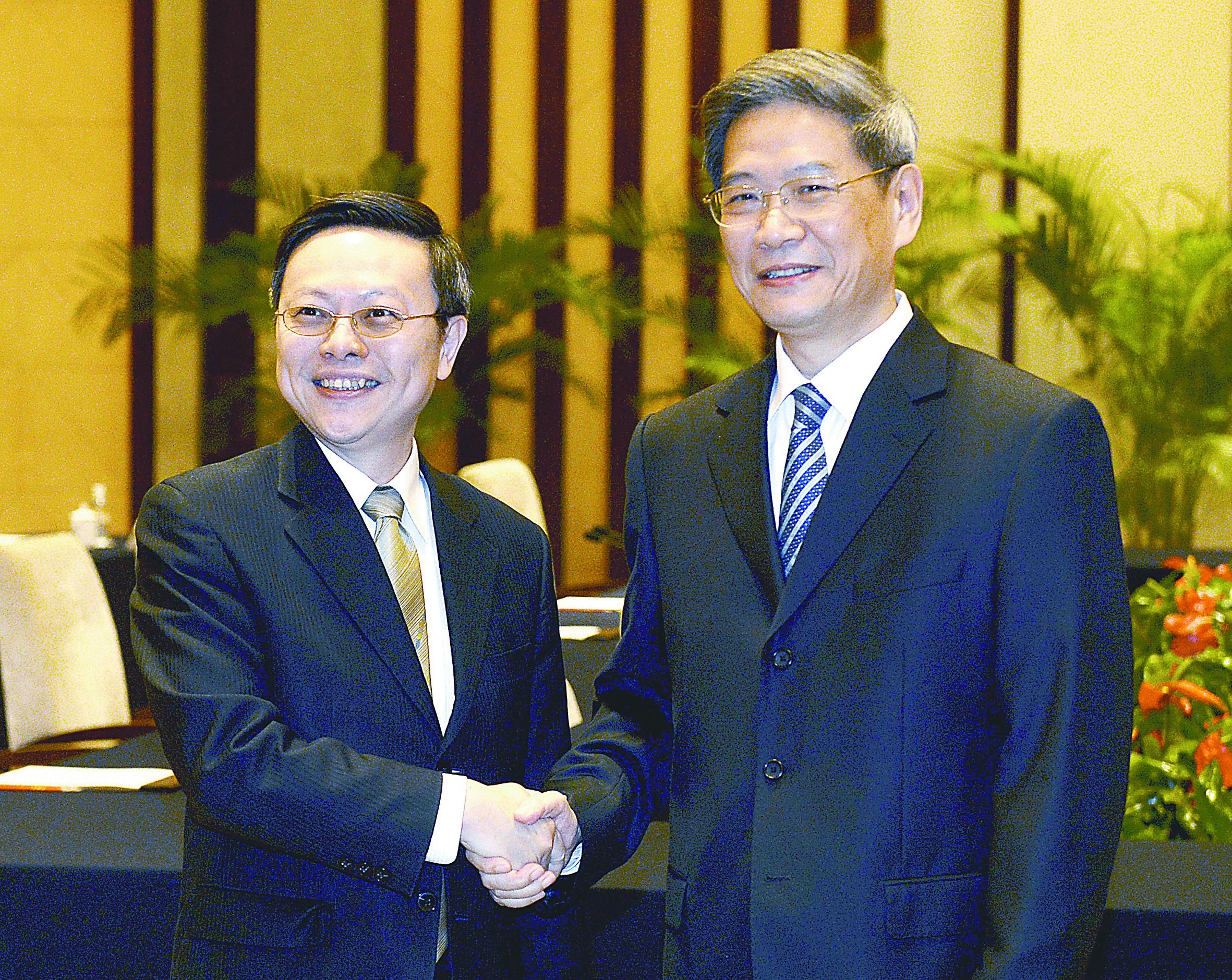"""""""张王会""""令政治对话提速 两岸共识成瞩目焦点"""