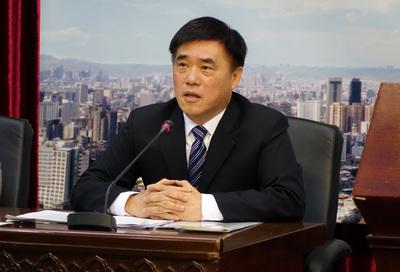 郝龙斌:我扛起国民党在台北市选举成败责任