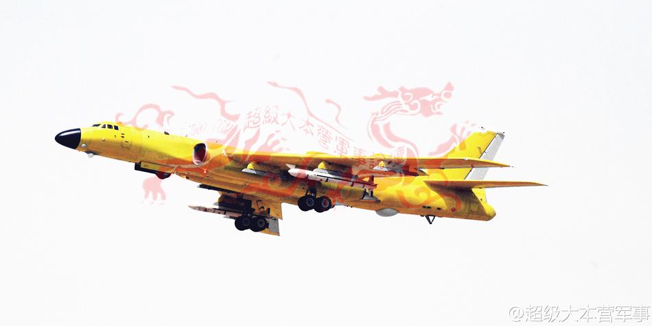 轰-6K挂6枚KD20巡航导弹猛图