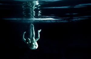纪实摄影:水下花泳