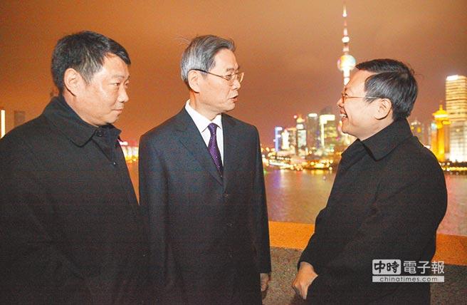 张志军邀王郁琦赏上海夜景 盼上半年实现访台