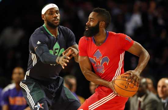 NBA全明星:东部明星队163-155西部明星队