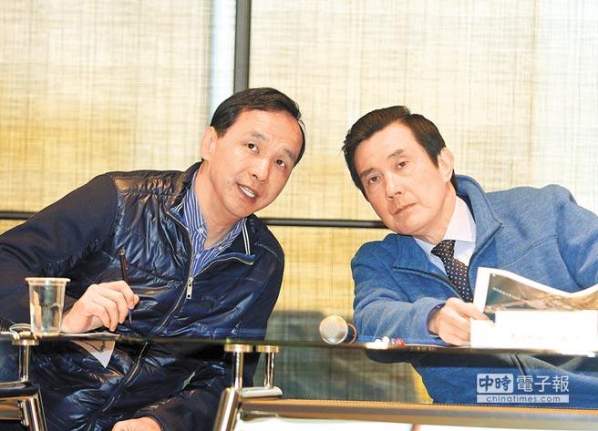 表态力挺连参选台北市长 朱立伦:胜文加油!