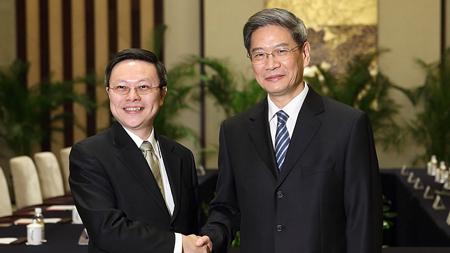 马英九指示:以平等、互惠原则接待张志军访台