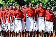 阅兵式上穿裙子的不一定是女兵