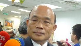 苏贞昌:连战只代表个人 不代表台湾主流民意