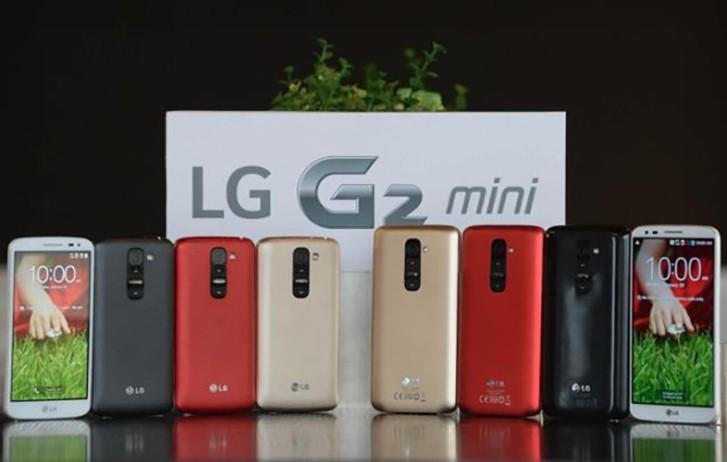 LG G2 mini最新配置曝光