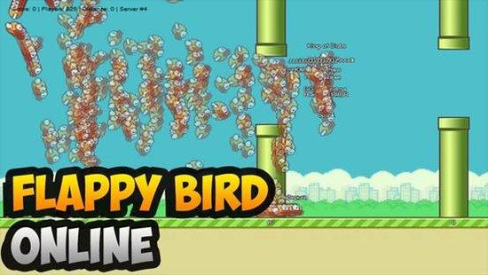 Flappy Bird变身在线游戏 支持多人实时较量