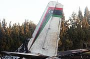 利比亚一军用飞机突尼斯坠毁