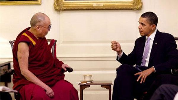 社评:奥巴马见达赖,世界顶级装蒜表演