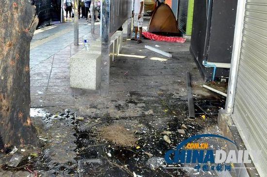 泰国东部反政府集会遭武装分子袭击 致2死41伤