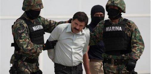 全球最大毒枭古兹曼落网 曾被评十大恶人之首