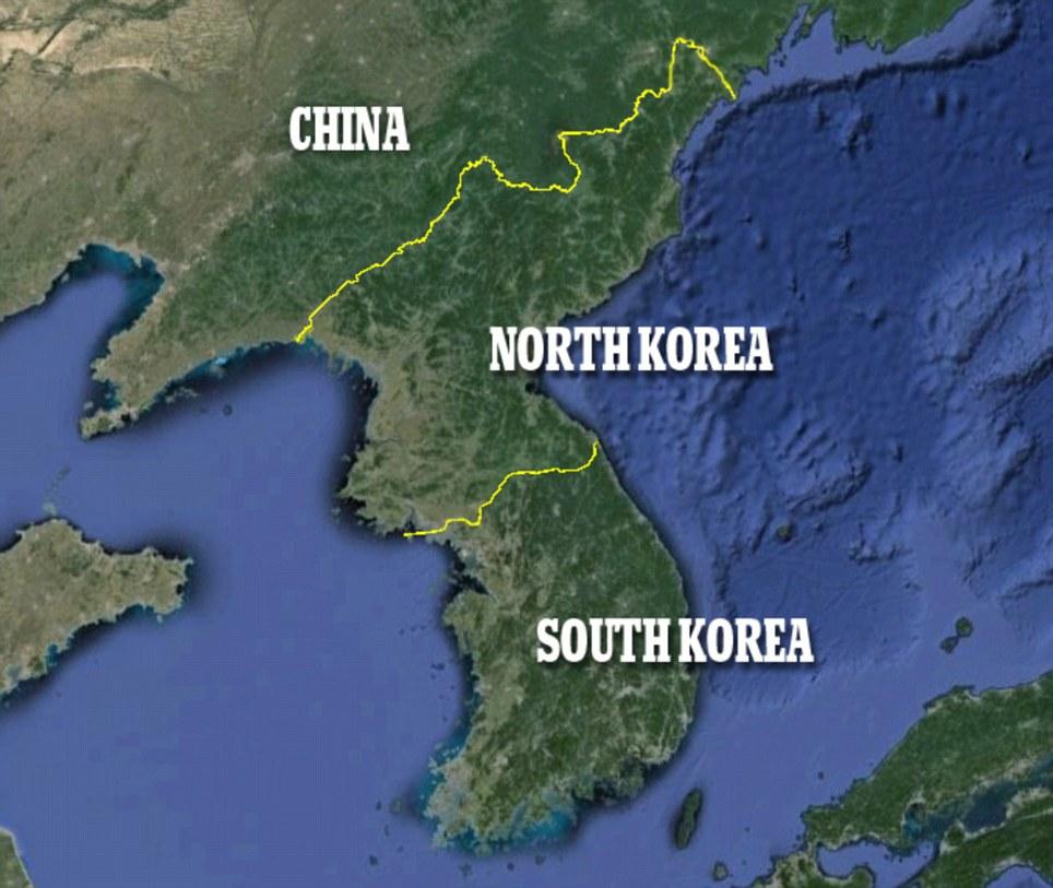 世界夜晚卫星地图_朝鲜半岛夜晚灯光对比明显 南边灯火通明北边漆黑_国际新闻_环球网
