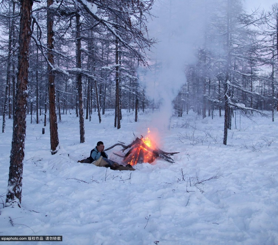 西伯利亚/西伯利亚驯鹿人零下60度的生活(18/18)