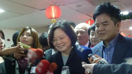 蔡英文否认与谢长廷合作夹杀苏贞昌:哪来的说法