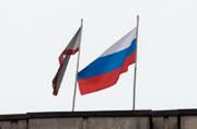 乌克兰议会大楼升起俄罗斯国旗