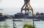 印度出事故潜艇最新返港照曝光