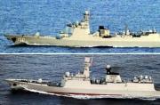 中国海军最强驱护舰再赴西太