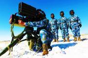 我海军陆战队在寒区练导弹攻击