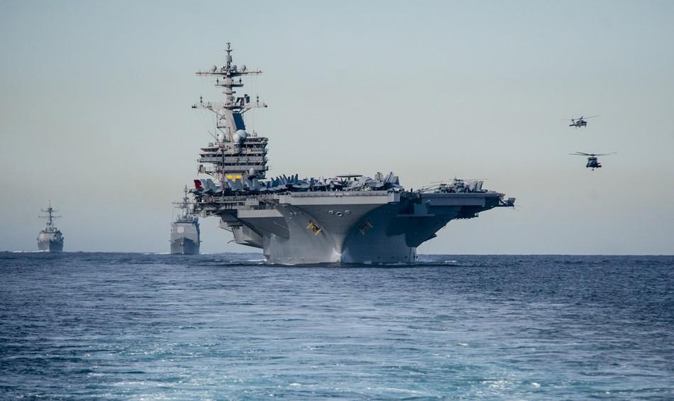 美国海军新派航母已驶入地中海