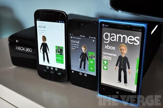 Xbox Live或跨平台支持iOS和安卓游戏
