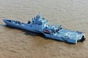 中国海军三体舰科幻感不输美军