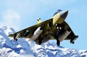 雪域高原上出现印度LCA战斗机