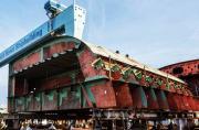 美国已开始造第二艘福特级航母