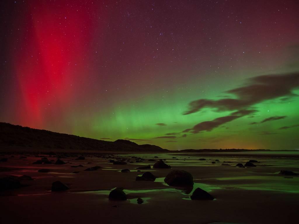 自然之魅 全球十处炫美北极光