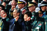 韩国新上任近6千军官总统授衔