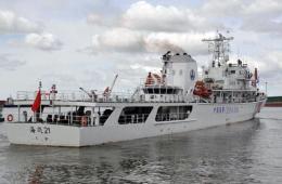 海南5艘海事执法船舶待命前往搜救马航失联客机