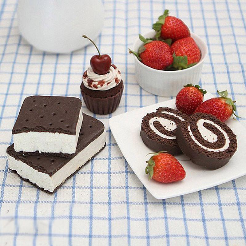 【环球网综合报道】这个世界永远不缺乏创意,也不缺乏创意的实践者。下面这组图中香甜可口的巧克力蛋糕、粉嫩的马卡龙、多彩的M豆……这些看着那么逼真的物品,其实都是彩陶制作而成。