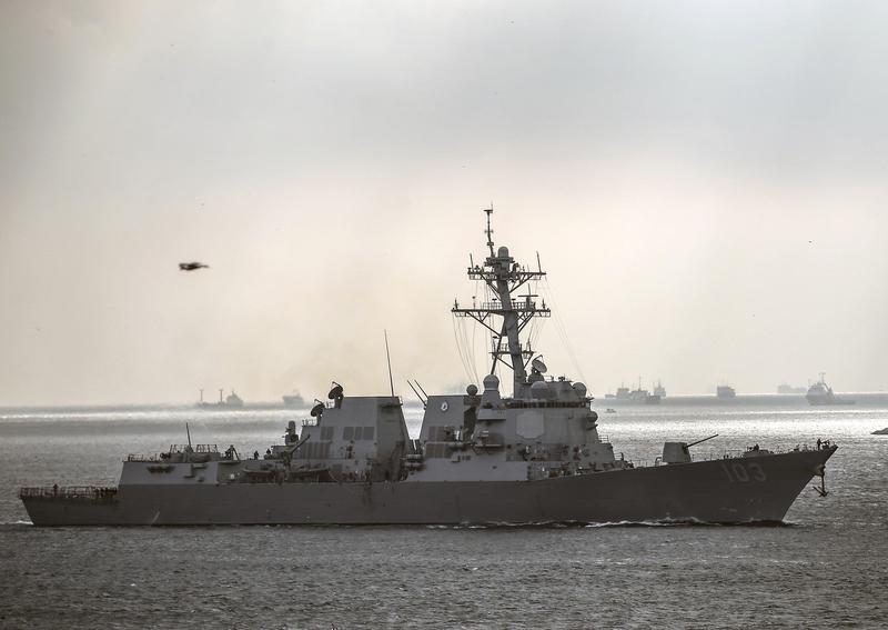 美军1艘宙斯盾舰正前往黑海