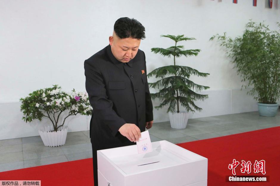 金正恩出现在金日成政治大学