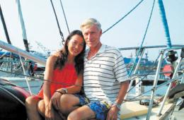 夫妻驾帆船横渡太平洋 历时300天行程4万里