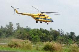 越南交通运输部副部长飞往发现疑似物区域