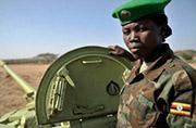 乌干达人民国防军女坦克兵曝光