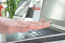 富士通研发掌纹识别笔记本 无需触摸即可解锁
