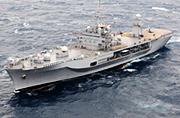 美军第7舰队旗舰在我南海巡游