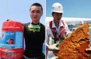 中国搜救船只捞到多件可疑物