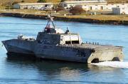 美军第4艘科幻濒海舰入役在即
