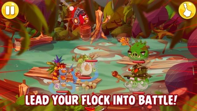Rovio推《愤怒的小鸟》新游戏 成回合制RPG游戏