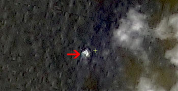 马航飞机失联:中国再公布一张卫星拍摄图像_国
