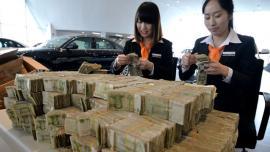 河北邯郸男子带11.93万元零钱买车